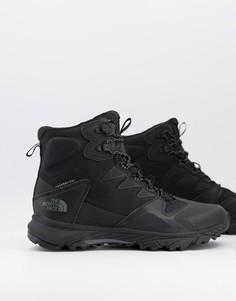 Черные легкие ботинки North Face Ultra XC-Черный