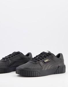 Черные кроссовки Puma Cali WN-Черный
