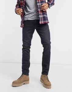 Узкие джинсы Wrangler Larston-Черный