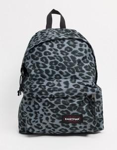 Рюкзак на подкладке с серым леопардовым принтом Eastpak-Многоцветный
