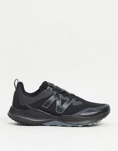 Черные кроссовки для бега по пересеченной местности New Balance Running Nitrel v4-Черный