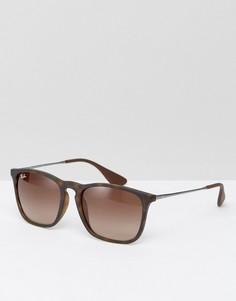 Солнцезащитные очки Ray-Ban Keyhole Wayfarer 0rb4187-Коричневый