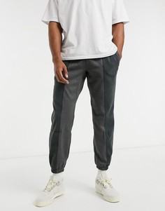 Серые джоггеры adidas Originals RYV-Серый