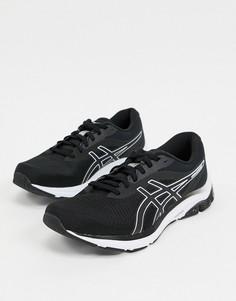 Черные кроссовки Asics Running gel pulse 12-Черный