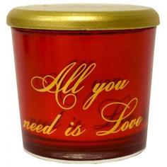 Свеча ароматическая «Perfume Орфей», цвет красный