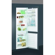 Холодильник встраиваемый двухкамерный Indesit BIN18A1DIF, 177x54.5 см, цвет белый