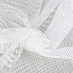 Тюль 1 м/п Мережка сетка 280 см цвет белый