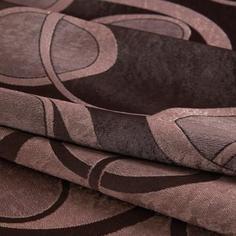 Ткань 1 м/п Петли портьера 280 см цвет коричневый