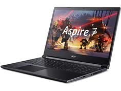 Ноутбук Acer Aspire 7 A715-41G-R7VF NH.Q8LER.008 (AMD Ryzen 5 3550H 2.1 GHz/8192Mb/256Gb SSD/nVidia GeForce GTX 1650 4096Mb/Wi-Fi/Bluetooth/Cam/15.6/1920x1080/Windows 10 Home 64-bit)