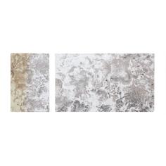 Набор ковриков для ванны Sofi De Marko Trinity из 2 предметов (КВ-ТР-1-НБ)