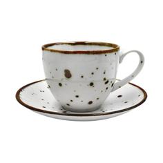 Чайная пара Porcelana Bogucice Alumina White 300 мл