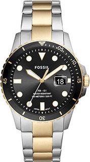 fashion наручные мужские часы Fossil FS5653. Коллекция FB-01