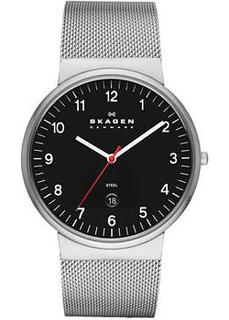 Швейцарские наручные мужские часы Skagen SKW6051. Коллекция Mesh