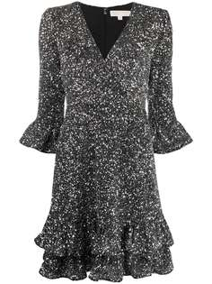Michael Michael Kors платье мини с пайетками