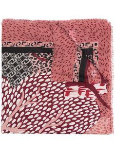 LIU JO шарф с принтом