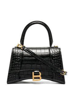Balenciaga сумка-тоут с тиснением под крокодила