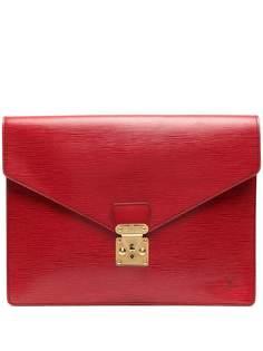 Louis Vuitton портфель pre-owned с тисненым логотипом