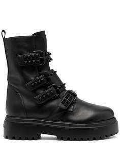 Le Silla ботинки с заклепками