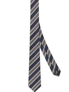 Fendi галстук в полоску