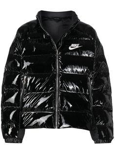 Nike глянцевый пуховик