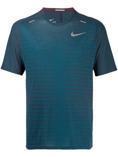 Nike полосатая футболка с короткими рукавами