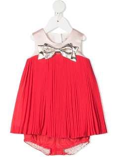 Hucklebones London плиссированное платье без рукавов