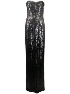 Jenny Packham платье с пайетками