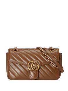 Gucci стеганая сумка на плечо GG Marmont