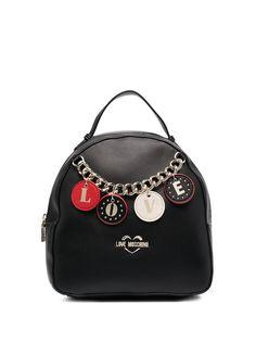 Love Moschino мини-рюкзак с подвеской