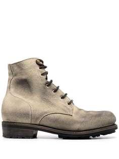 Ajmone ботинки с эффектом потертости
