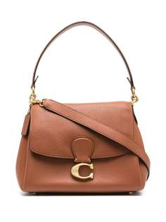 Coach сумка-тоут с металлическим логотипом