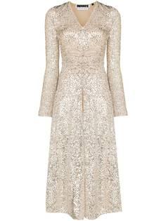 ROTATE платье миди Sierra с пайетками