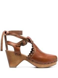 Isabel Marant мюли на каблуке