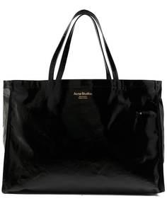 Acne Studios объемная сумка-тоут