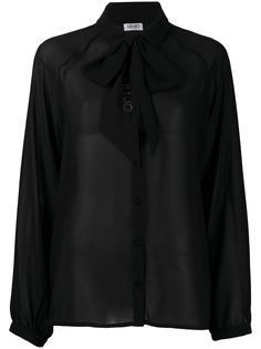 LIU JO блузка с бантом