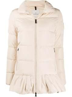 Moncler расклешенная куртка-пуховик Brunec
