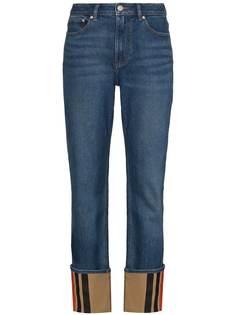 Burberry прямые джинсы Marissa
