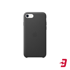 Чехол Apple Leather Case для iPhone SE 2020/7/8 Black (MXYM2ZM/A)