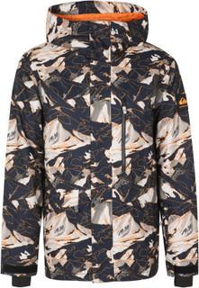 Куртка утепленная мужская Quiksilver Mission Printed, размер 46-48