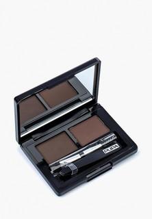 Набор для макияжа бровей Pupa тон 03 темно-коричневый, 1.1 г