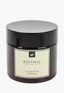 Скраб для тела Biothal Соляной, Дикая Роза, 300 мл.