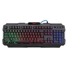 Клавиатура DEFENDER Legion GK-010DL, USB, c подставкой для запястий, черный [45010]