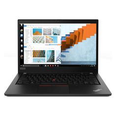"""Ноутбук LENOVO ThinkPad T14 G1 T, 14"""", IPS, Intel Core i5 10210U 1.6ГГц, 8ГБ, 256ГБ SSD, Intel UHD Graphics , Windows 10 Professional, 20S0005DRT, черный"""