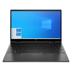 "Ноутбук-трансформер HP Envy x360 15-ee0006ur, 15.6"", IPS, AMD Ryzen 5 4500U 2.3ГГц, 16ГБ, 512ГБ SSD, AMD Radeon , Windows 10, 1N7U4EA, темно-серый"