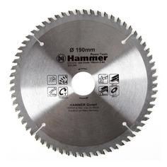 Пильный диск Hammer 205-206 CSB PL, по металлу, 190мм, 30мм, 1шт [30677]