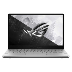 "Ноутбук ASUS ROG GA401IU-HE189T, 14"", IPS, AMD Ryzen 7 4800HS 2.9ГГц, 8ГБ, 512ГБ SSD, NVIDIA GeForce GTX 1660 Ti - 6144 Мб, Windows 10, 90NR03I5-M04660, белый"