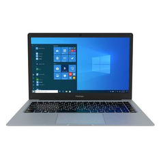 "Ноутбуки Ноутбук PRESTIGIO SmartBook 141С5, 14.1"", Intel Celeron N3350 1.1ГГц, 4ГБ, 64ГБ eMMC, Intel HD Graphics 500, Windows 10 Professional, PSB141C05CGP_MG_CIS, темно-серый"