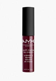 Помада Nyx Professional Makeup Soft Matte Lip Cream Матовая, оттенок 20, Copenhagen, 8 мл