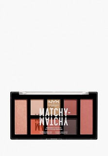Палетка для глаз Nyx Professional Makeup Matchy-Matchy Monochromatic Color Palette, оттенок 03, Camel, 10 г