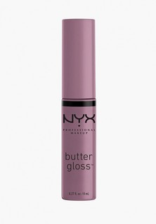 Блеск для губ Nyx Professional Makeup Butter Lip Gloss, оттенок 43, Marshmallow, 8 мл